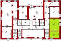 Офис 103 (59,7 кв.м) - 1 этаж