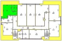 Офис 405 (50,2 кв.м.) - 4 этаж