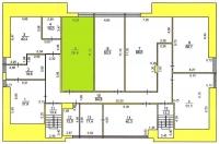 Офис 406 (58,8 м.кв.) - 4 этаж