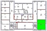 Офис 303 (43,5 м.кв.) - 3 этаж