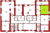 Офис 102 (34,7 кв.м) - 1 этаж